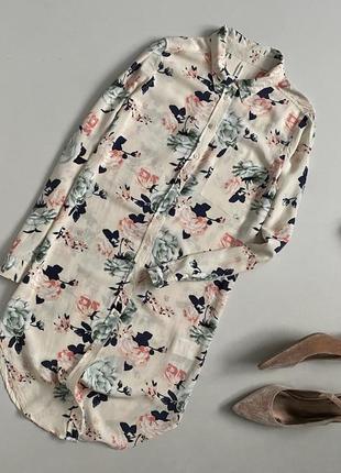 Милейшее цветочное платье рубашка chicoree