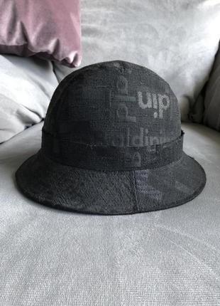 Новая чёрная  панама шляпа baldinini оригинал made in italy prada burberry marni gucci