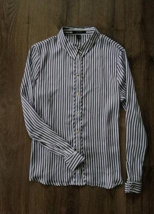 Блуза в полоску esprit