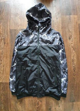 Стильная мужская куртка ветровка дождевик jack&jones