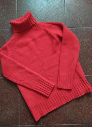 Очень теплый плотный шерстяной свитер marks & spencer