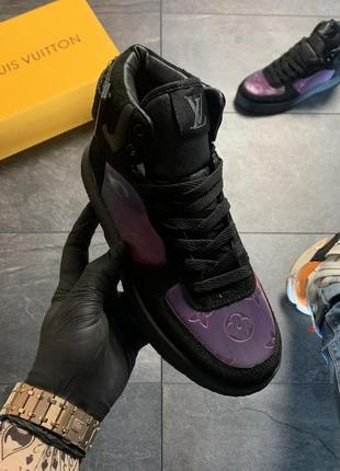 Женские кроссовки высокие кеды ботинки1 фото