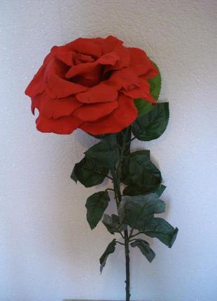 Искусственные цветы роза-гигант