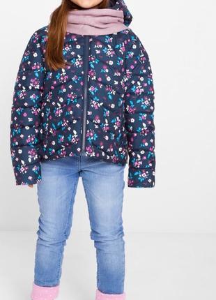 Стильная красивая куртка bonprix для маленькой модницы на рост 92/98см
