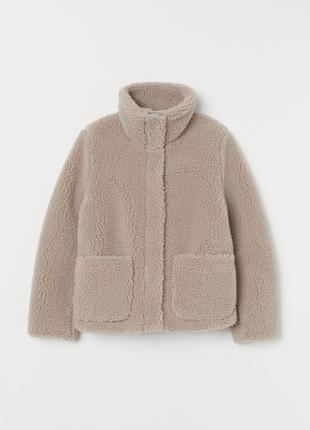 Куртка, штучна шубка h&m s