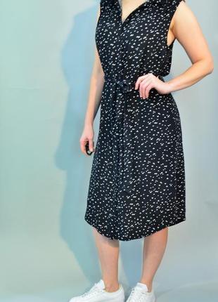 4205\70 платье-рубашка без рукавов warehouse xxl