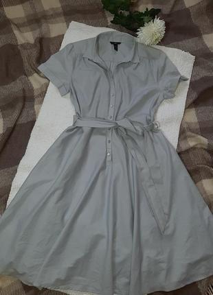 Платье  классика клеш