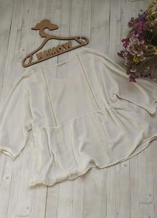 Вискозная блуза от mango.