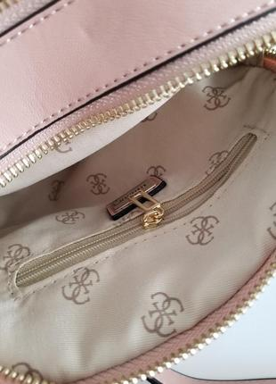 Crossbody guess lolli pink (сумка, клатч) , пудра9 фото