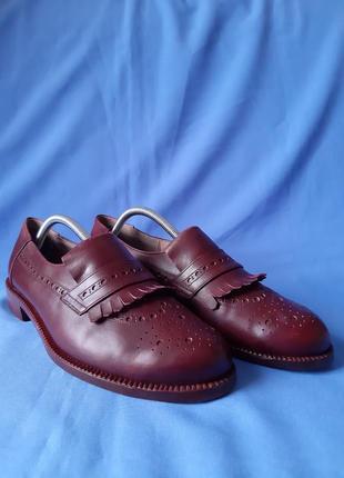 Оригинальные броги,оксфорды,лоферы,туфли,туфлі от hand made