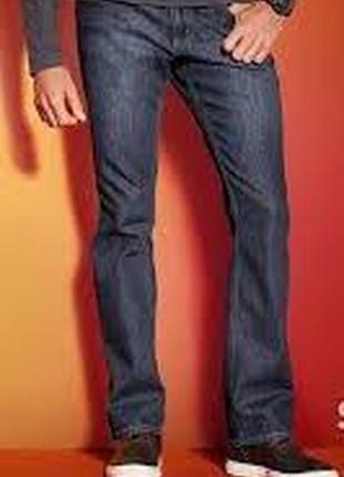 Нові термо джинси livergy, німеччина straight fit відмінна якість! розмір 54 (38/34)