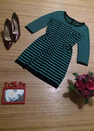Шикарное платье свободного кроя, размер м