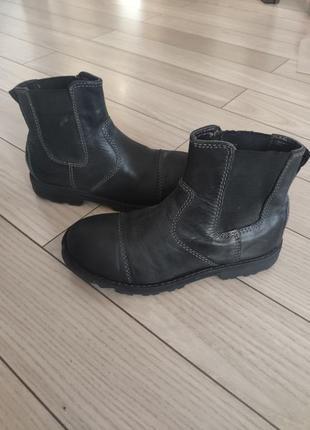 Кожаные ботинки спенсер