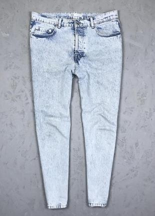 Мужские джинсы бойфренды zara boyfriend
