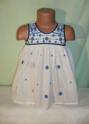 Хлопковая блузка на 4годика