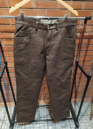 Кожаные брюки | штаны | джинсы
