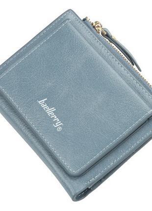 Женский кошелек бумажник baellerry (n3528) голубой