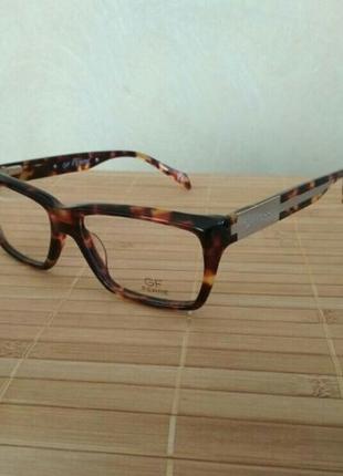 Брендовая черепаховая оправа под линзы g.ferre ff221 03 очки