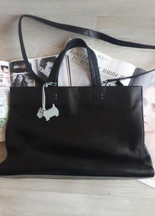 Кожаная черная сумка radley