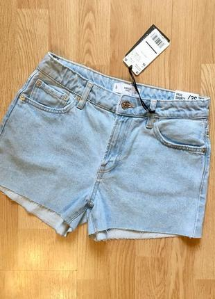 Джинсовые шорты, шортики mango, размер 36, s