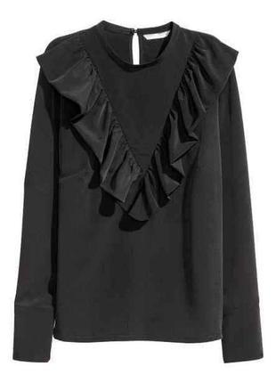 Трендовая блуза h&m