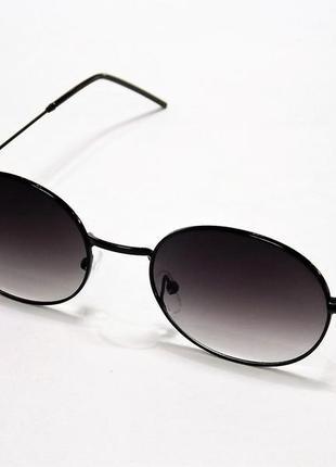 Очки солнцезащитные ray ban 664 круглые тишейды черные.