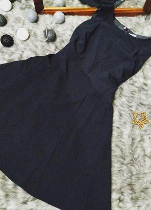 Платье из костюмной ткани marks & spencer