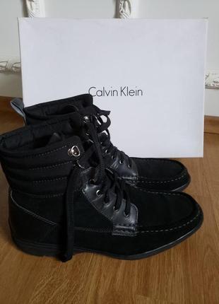 Мужские оригинальные  ботинки кельвин кляйн calvin klein; 44