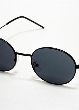Очки солнцезащитные ray ban 664 черные круглые тишейды