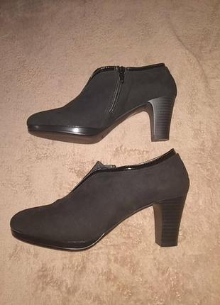 Замшевые туфли, полуботинки, туфли (италия)
