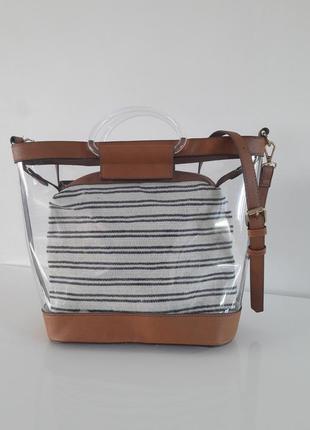 Новая тркндовая силиконовая двойная сумка accessorize london