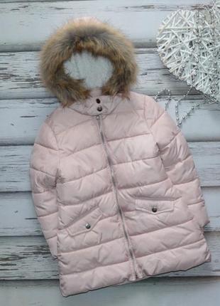 5-6 лет удлиненная куртка пальто m&s