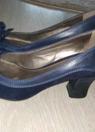 Geox respira туфлі шкіра-замша
