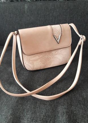 Пудрова сумка клатч