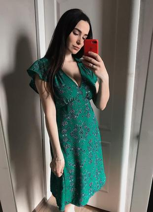 Зеленое платье от marks&spencer