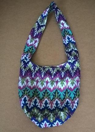 Красивая сумка. цветная