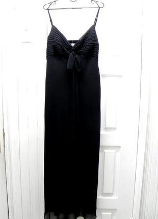 Вечернее шифоновое платье в пол 50-52