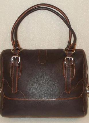 Большая сумка *caroll* натуральная кожа