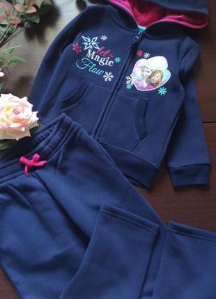 Спортивный костюм для девочки дисней холодное сердце эльза