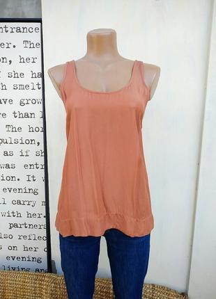 100% вискоза блуза летняя майка mango
