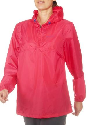 Фирменный качественный дождевик ветровка куртка курточка  quechua p. xs s m