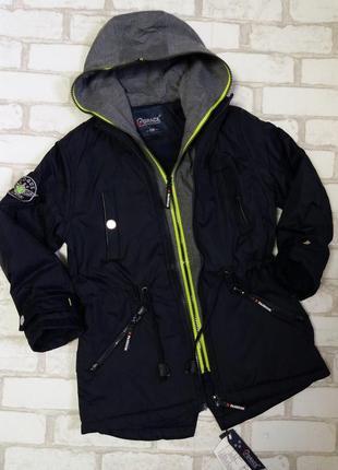 Стильная демисезонная,весенняя куртка, парка grace(венгрия)