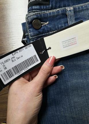 Sale джинсы синие женские emporio armani originals
