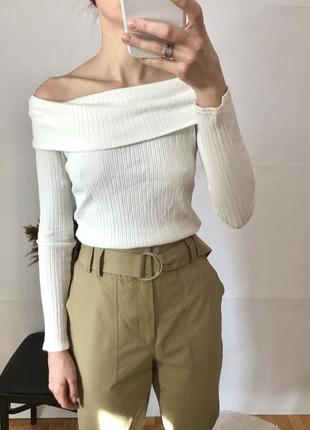 Кофта нарядная блуза на плечи zara cos dior chanel