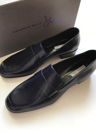 Брендові шкіряні туфлі,tosca bly.оригінал.