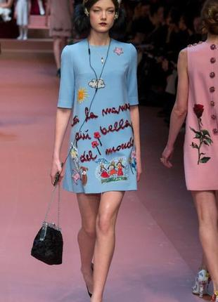 Красивейшее платье dolce&gabbana