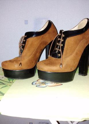 Закрытые туфли  lino marano