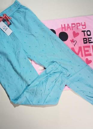 Вискозные штаны гаремки для девочки 8-9 лет