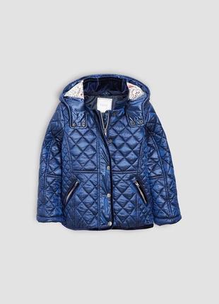 Красивая стеганая куртка next, указано 5 лет