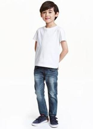 Джинсы на мальчика 9-10 лет h&m